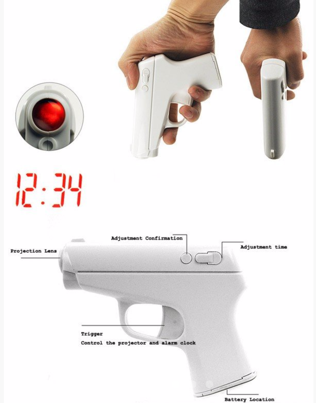 #CoolGadgets – The Secret Agent Shooting Alarm Clock ...